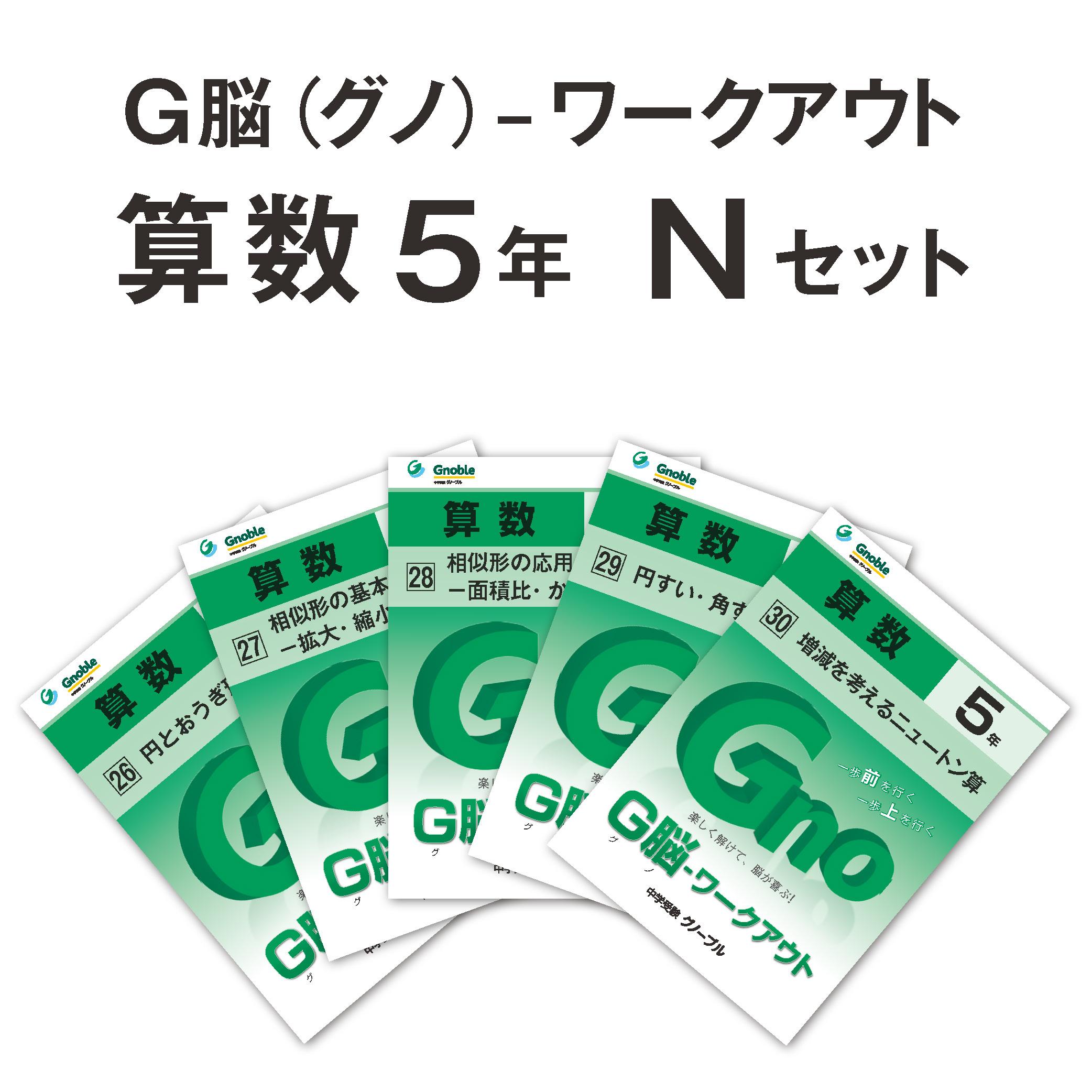 5年生版Nセット(No26~30) ¥4,200